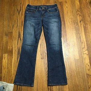 American Eagle kick boot jeans size 8